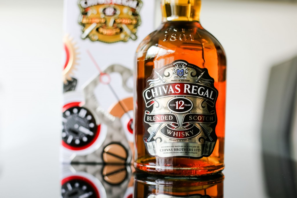 Chivas Regal 12 meets Bremont