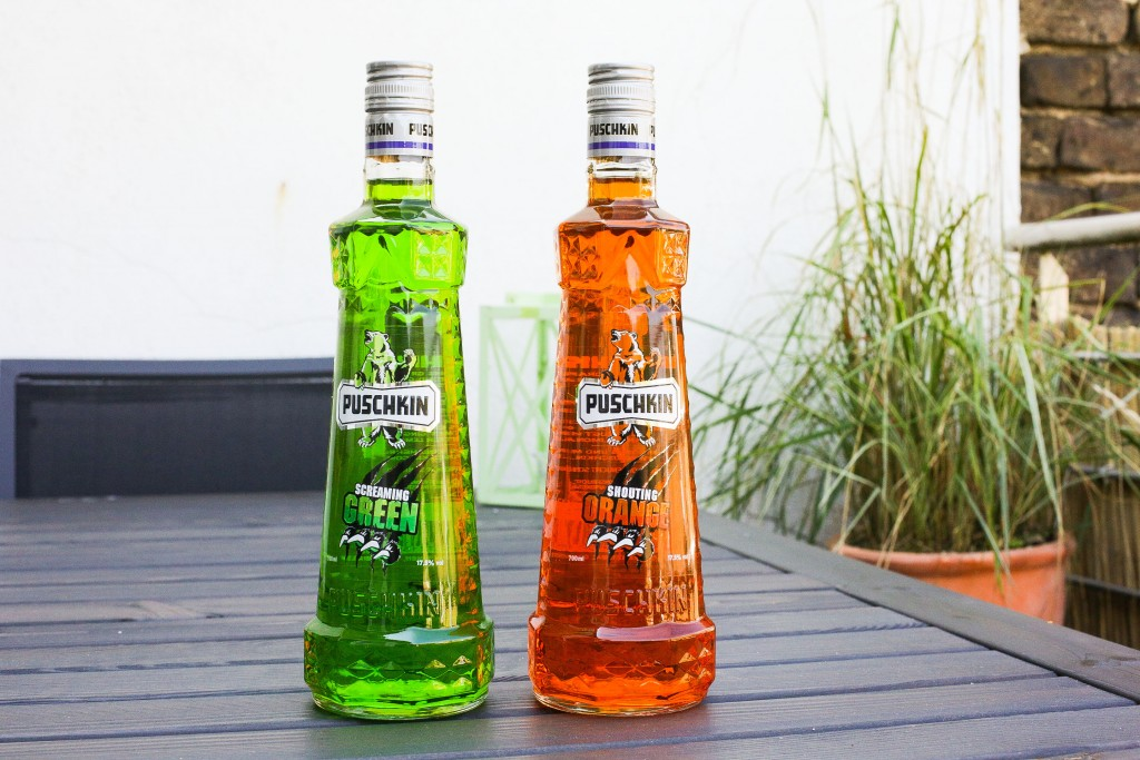 Puschkin Shouting Orange / Screaming Green – DIE neuen Partyshots sind da!