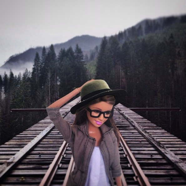 Hipster Barbie on Instagram